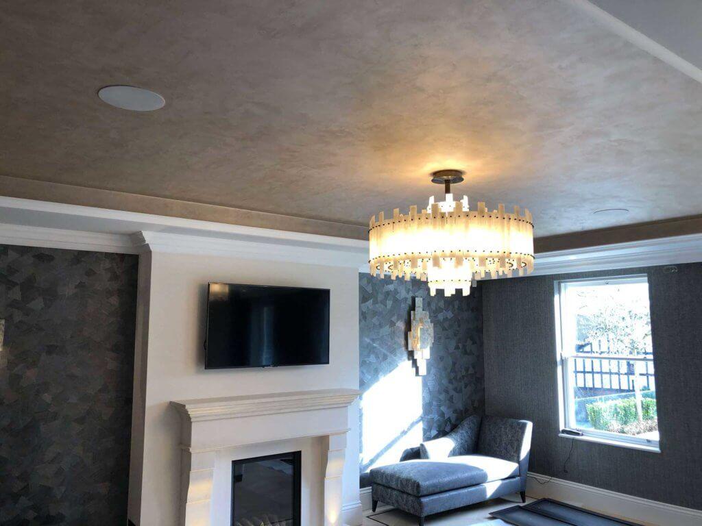 Evoke polished plaster interiors residential example